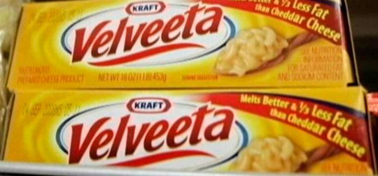 Kraft Foods Group retira de forma voluntaria 260 cajas de un lote de Velveeta Original Pasteurized Recipe Cheese