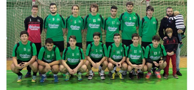 Corporación Laber, nuevo patrocinador del equipo juvenil de las Escuelas Balonmano Xiria