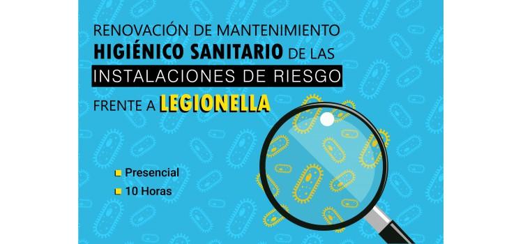 Curso de Renovación de Mantenimiento Higiénico Sanitario de las Instalaciones de Riesgo frente a Legionella.